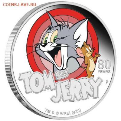 Кошки на монетах - Томи Джерри-1