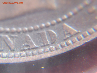Канада. Монеты периода правления королевы Виктории 1858-1901 - 1_cent_1876h_d