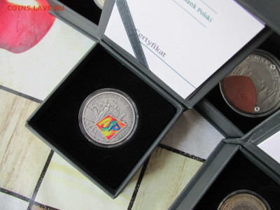 Серебро Белоруссии, Польши, Украины и др. на золотые монеты. - 8.JPG