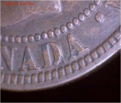 Канада. Монеты периода правления королевы Виктории 1858-1901 - 1-cent-1898-die-crack-d-canada-1898