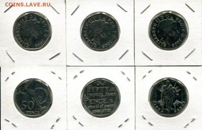 Великобритания 50п разные 2004-2006 до 16.02.20 22-00 мск - GB 50p dif6