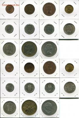Великобритания подборка 1ф-5Ш 1954-1970 до 16.02.20 - GB 1954-1970 dif
