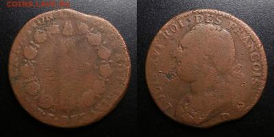 Франция – 12 денье (1793 D) до 16.02 (22.00) - Франция – 12 денье (1793 D) «Людовик XVI»