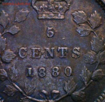 Канада. Монеты периода правления королевы Виктории 1858-1901 - 5-cents-188-dot-above-t-5-cents-canada
