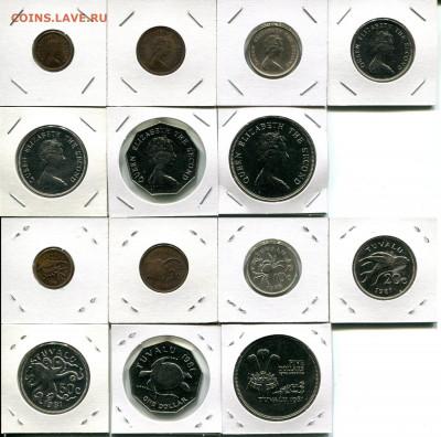 Тувалу подборка 1ц-5$ 1976-1985 до 22.02.20 22-00 мск - Tuvalu dif.1976-1985