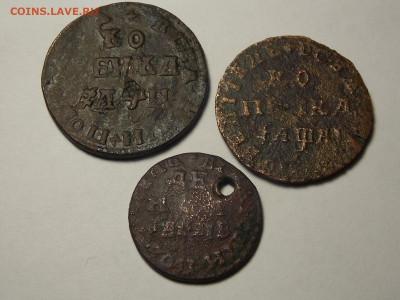 Три уставшие монеты Петра-1 на оценку. - DSCN5715.JPG