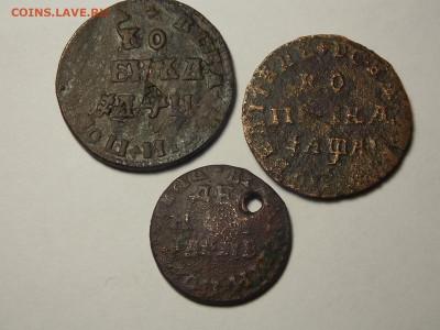 Три уставшие монеты Петра-1 на оценку. - DSCN5714.JPG