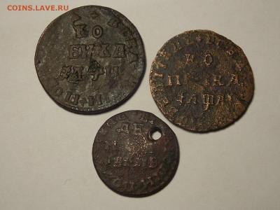 Три уставшие монеты Петра-1 на оценку. - DSCN5713.JPG