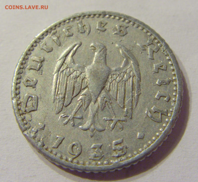 50 пфеннигов 1935 Е Германия №1 01.03.2020 22:00 МСК - CIMG9466.JPG