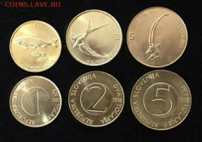 Чем отличаются памятные и юбилейные монеты от стандартных??? - slovenia