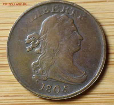 Монеты США. Вопросы и ответы - USA_Half_Cent_4