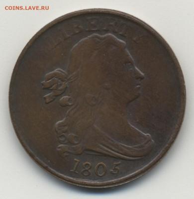 Монеты США. Вопросы и ответы - USA_Half_Cent_2