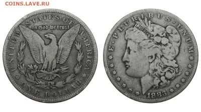США. 1 доллар 1883 г. Морган. До 28.03.20. - DSH_7770.JPG