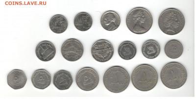 Иностранная погодовка (Весь мир, кроме Европы). Фикс цены. - Иностранные монеты (кроме Европы) Скан В, сторона 2