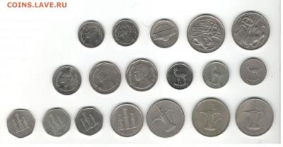 Иностранная погодовка (Весь мир, кроме Европы). Фикс цены. - Иностранные монеты (кроме Европы) Скан В, сторона 1