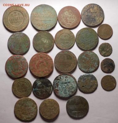 Медные монеты РИ.23-шт.до 30.03.2020 г.в 22-00 мск. - 3