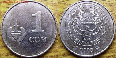 Что попадается среди современных монет - 1 сом