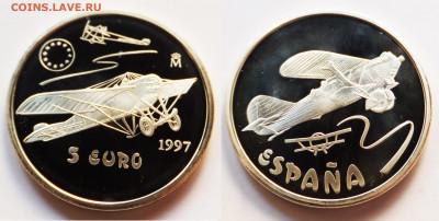 Авиация космонавтика на монетах - исп