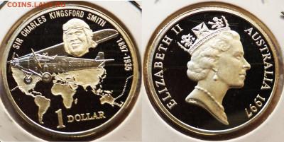 Авиация космонавтика на монетах - австр