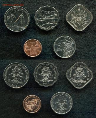 1,2,5,10,25,50 центов Багамские о-ва до 21.04.20 в 22.00 - img377