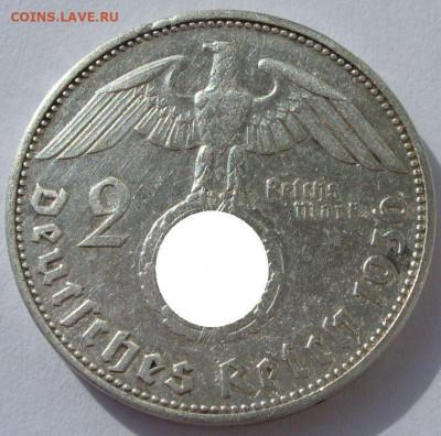 Германия, иностранщина (наборы, на вес, евро), царизм, СССР. - 2 марки 1936 E - 1-1