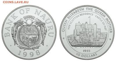 Науру. 10 долларов 1998 г. Proof. Замок Мэй. До 23.05.20. - Р290.JPG
