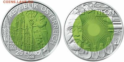 Монеты в необычном цвете - austria-niobij-006