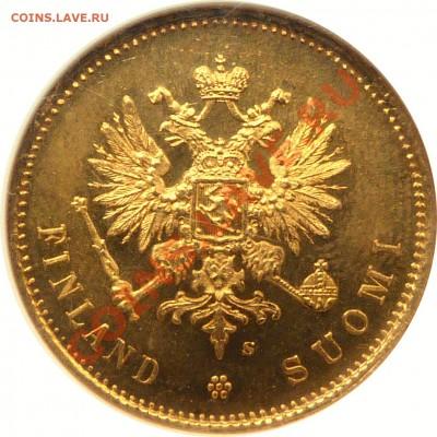 Коллекционные монеты форумчан (золото) - 20 Markkaa 1913 MS-66 (2).JPG