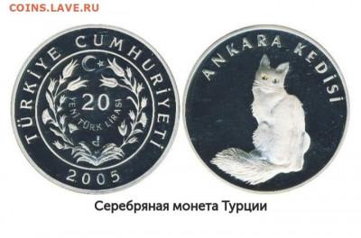 Кошки на монетах - CtGB-2Mld3Q
