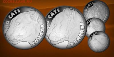 Кошки на монетах - 46d857c214c7b40773c4b27231efabfa