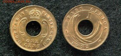 1цент 1952 Британская Восточная Африка до 17.06.20 в 22.00 - img693