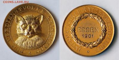 Кошки на монетах - Essen-1901