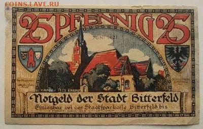 монеты с пожарной тематикой? - 25_pfenningov_1921_g (1)