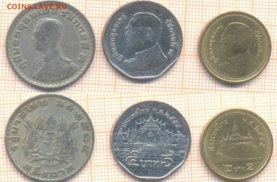 Таиланд 3 монеты, до 07.07.2020 г. 22.00 по Москве - Таиланд 3 монеты 1234