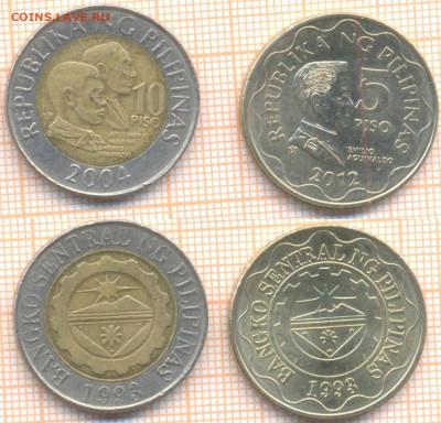 Филиппины 2 монеты , до 07.07.2020 г. 22.00 по Москве - Филиппины 10 п 2004 5п 2012 511