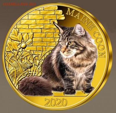 Кошки на монетах - 05