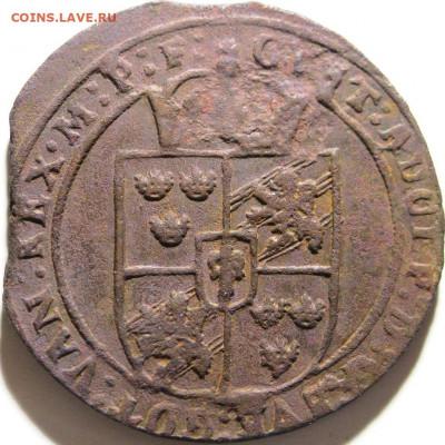 Медные шведские монеты Густава II - 30 UaSaK2 (30124)