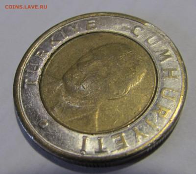 Турция 1 лира 2005 с жёлтым кольцом. - IMG_5389.JPG