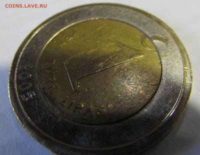 Турция 1 лира 2005 с жёлтым кольцом. - IMG_5387.JPG