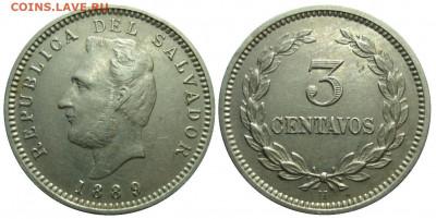 Республика Эль-Сальвадор - slvdor_3c_1889_1