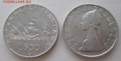Италия, 500 лир 1960 и 1961 года до 22.00 02.08.20 года - IMG_6111.JPG