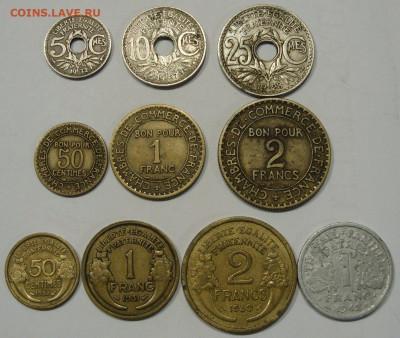 Франция 10 монет 1921-1942. - Франция 10 монет 1921-1942 - 1