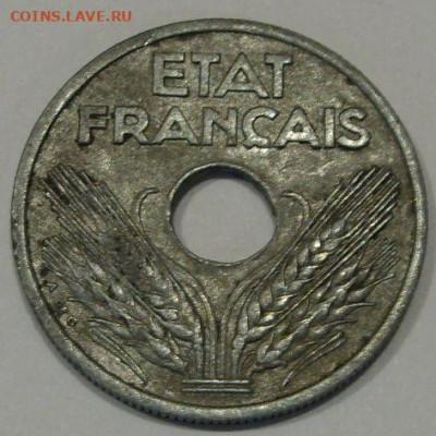 10 сантимов Франция 1941. - 10 сантимов Франция 1941 - 2
