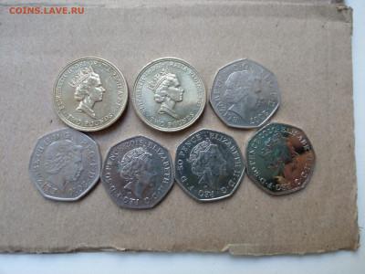 Юбилейные 50 пенсов и 2 фунта Британия ФИКС до 02.08 - IMAG7841