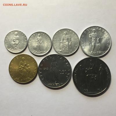 Ватикан 1965г 7 монет от 1 до 100 лир - image-02-08-20-12-33-1