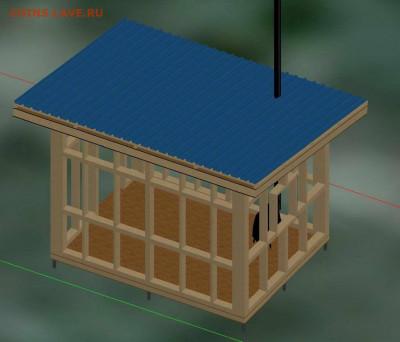 Сколько стоит построить дом? - Каркас - 0002
