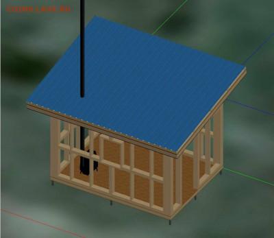 Сколько стоит построить дом? - Каркас - 0001