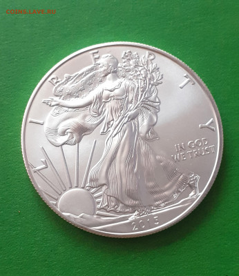 Доллар США 1 унция чистого серебра - 2