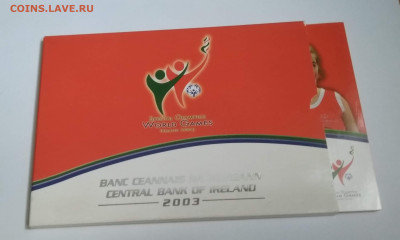Набор монет Евро 2003 год.Ирландия. с номинала. - IMG_20190908_142330