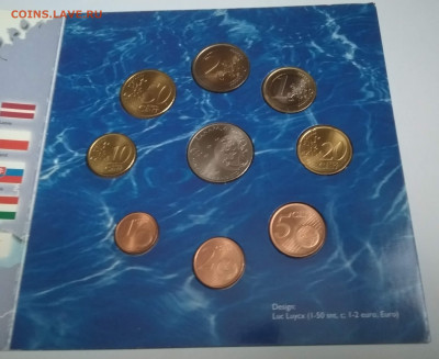 Набор монет Евро 2004 год. Финляндия.с жетоном - IMG_20190908_141155
